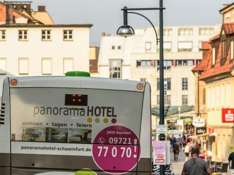Linienbus in Schweinfurt. Foto: Pascal Höfig