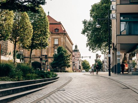 Innenstadt Schweinfurt. Foto: Pascal Höfig