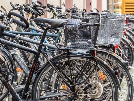 Fahrräder in Schweinfurt. Symbolfoto: Pascal Höfig
