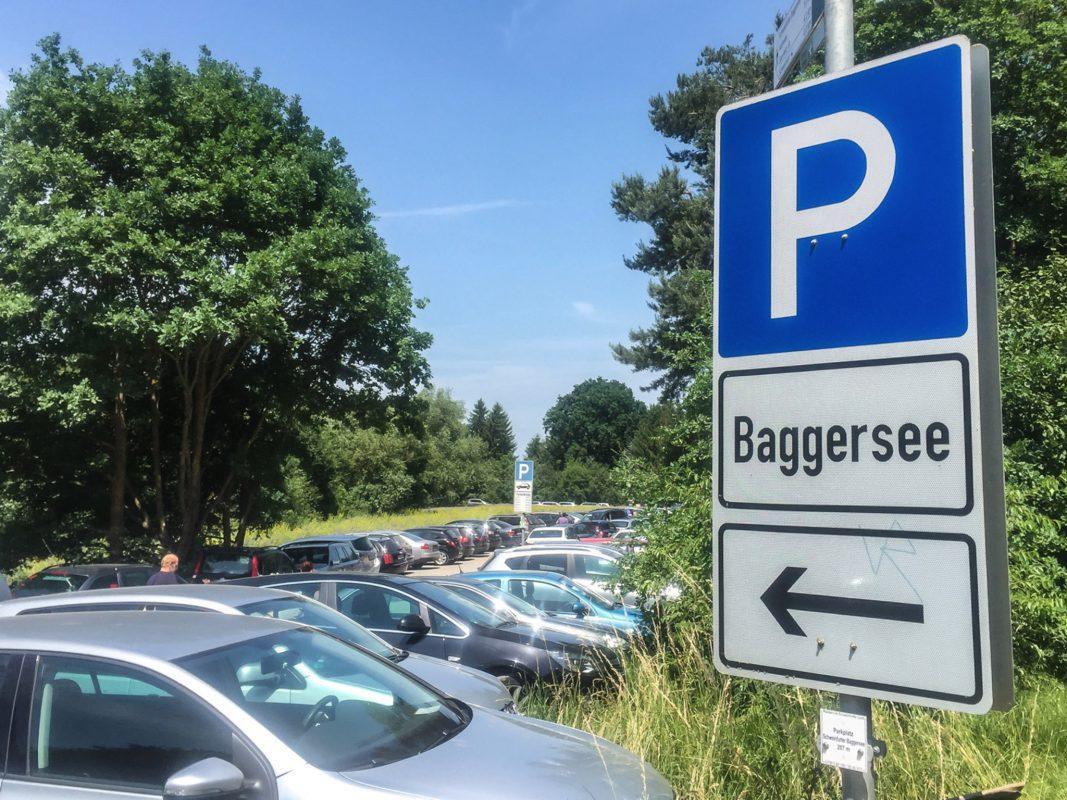 Baggersee in Schweinfurt. Foto: Pascal Höfig