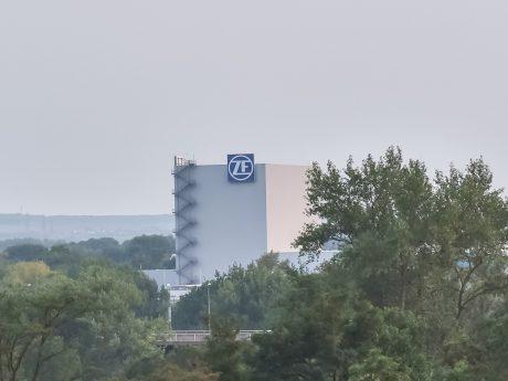 Das ZF-Gebäude in Schweinfurt. Foto: Pascal Höfig