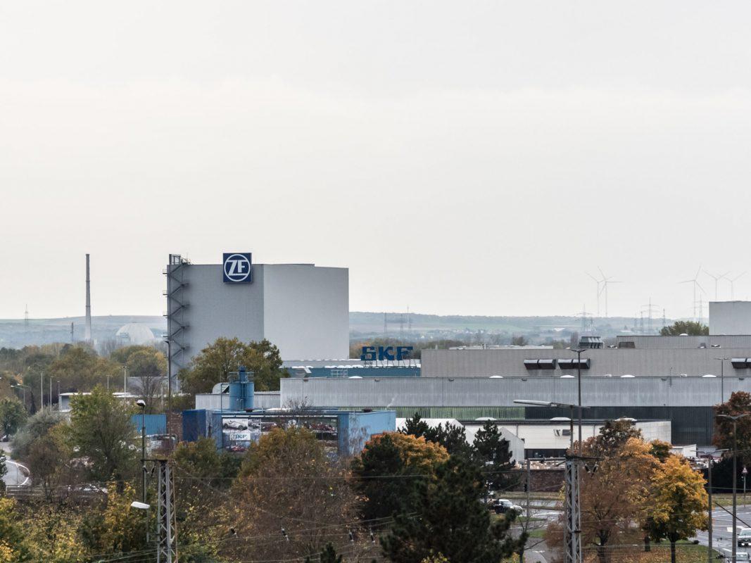 ZF-Gebäude in Schweinfurt. Foto: Pascal Höfig