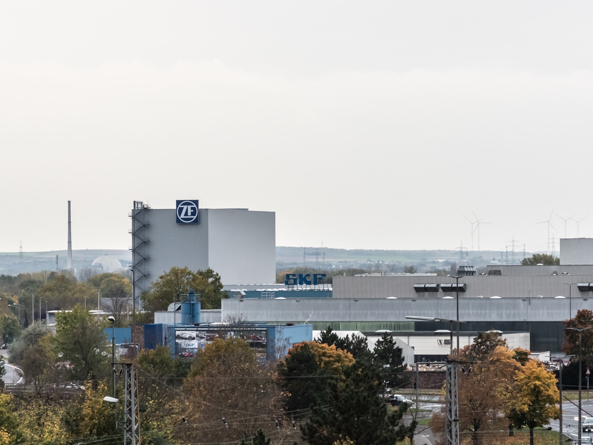 ZF Sachs in Schweinfurt. Foto: Pascal Höfig