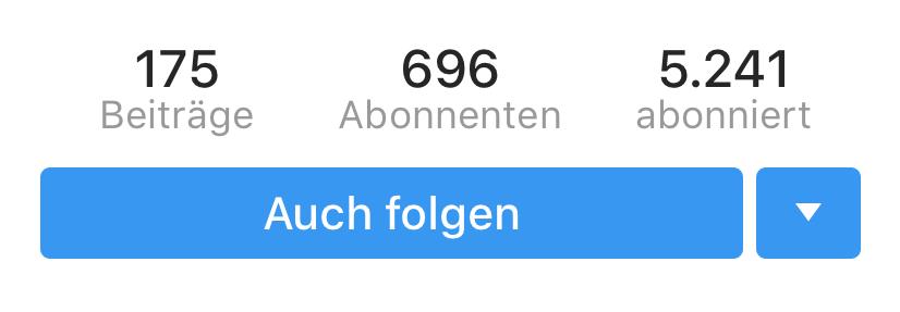 Screenshot Instagram