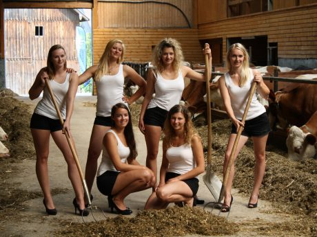 Wer möchte Teil der 2019er Version des Jungbauernkalenders werden? Foto: AGRO Communication GmbH