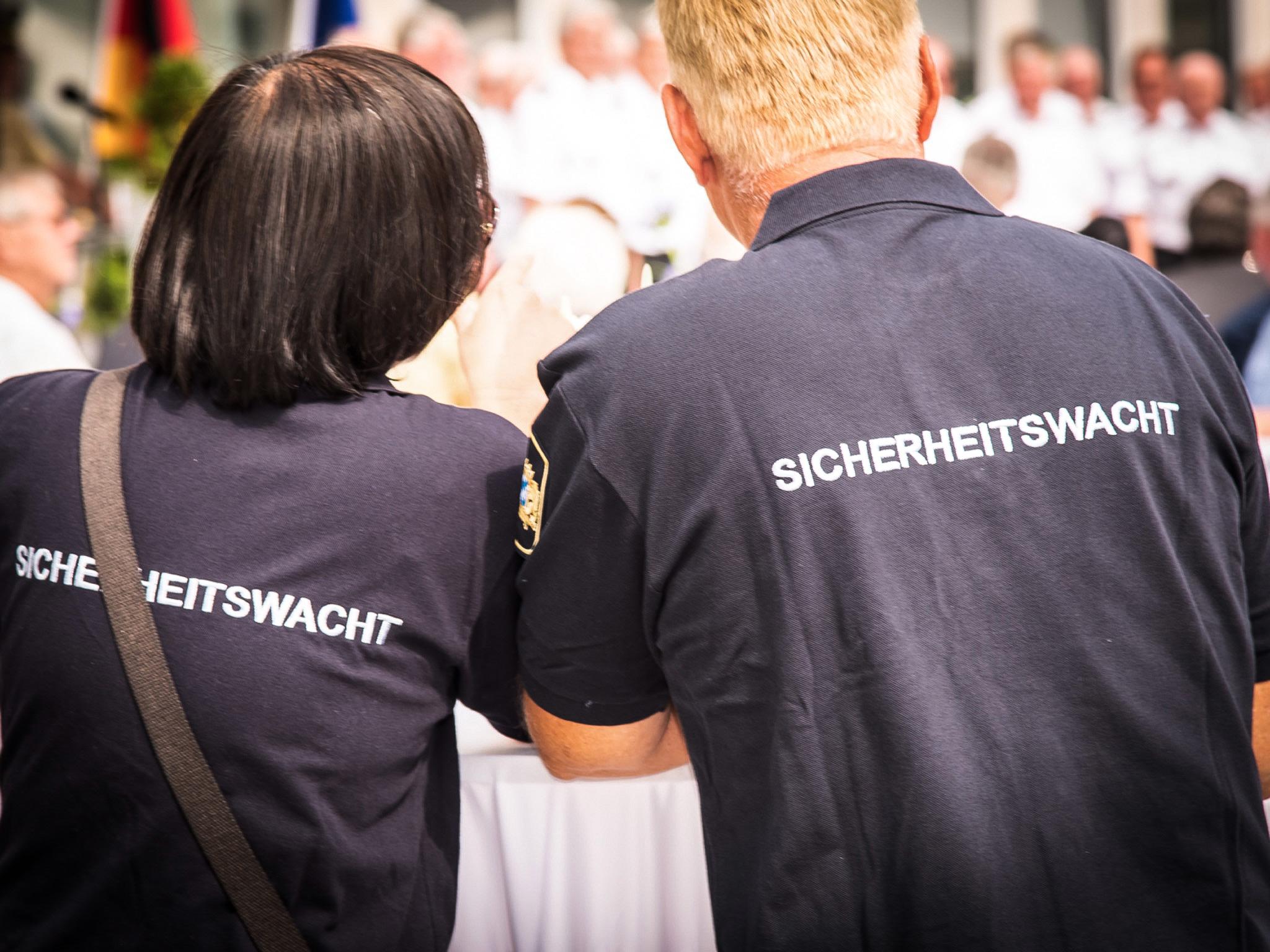 Sicherheitswacht. Symbolfoto: Pascal Höfig