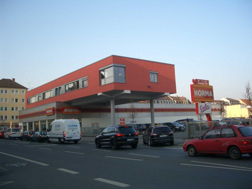 Dachbebauung in Nürnberg. Foto: NORMA