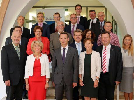 Der Rat der Region Mainfranken. Foto: Region Mainfranken GmbH, Rudi Merkl