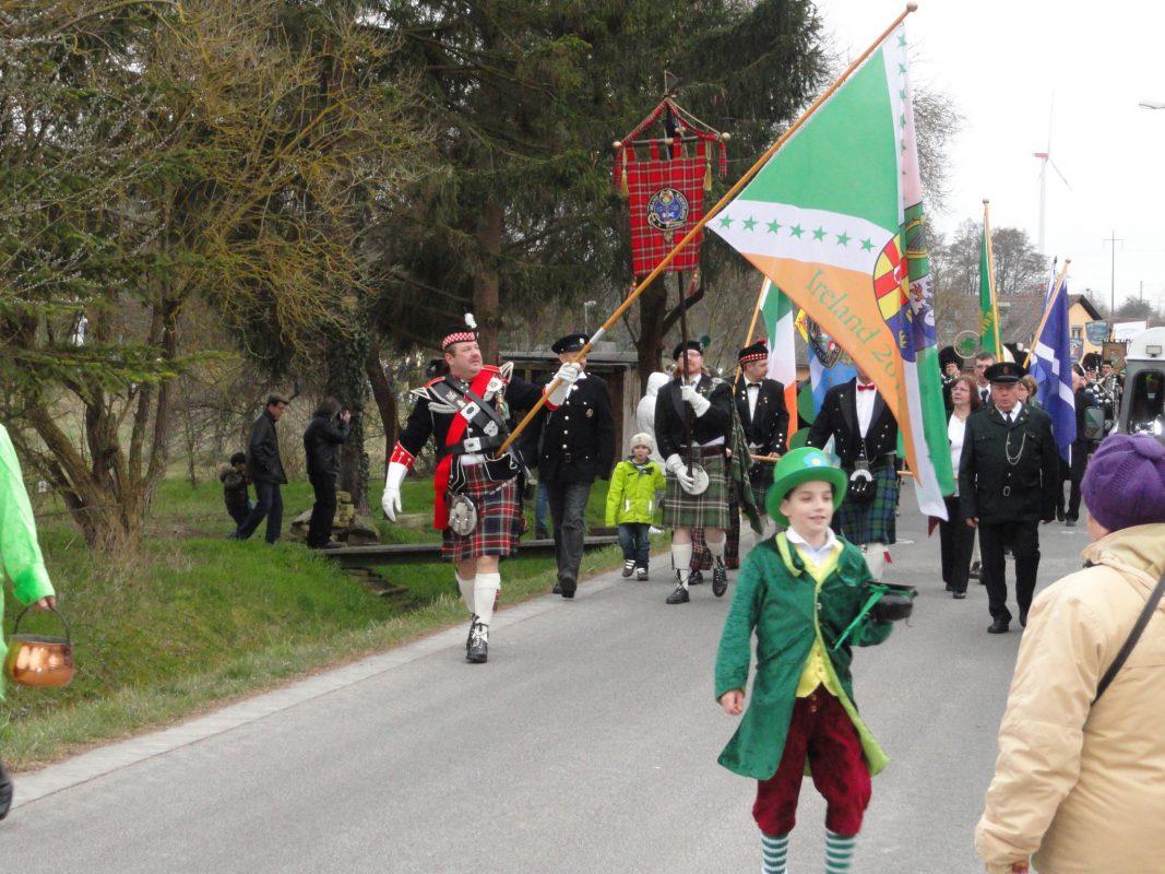 Dieses Jahr feiert der Clan McEL den St. Patricks Day in Irland. Foto: Clan McEL