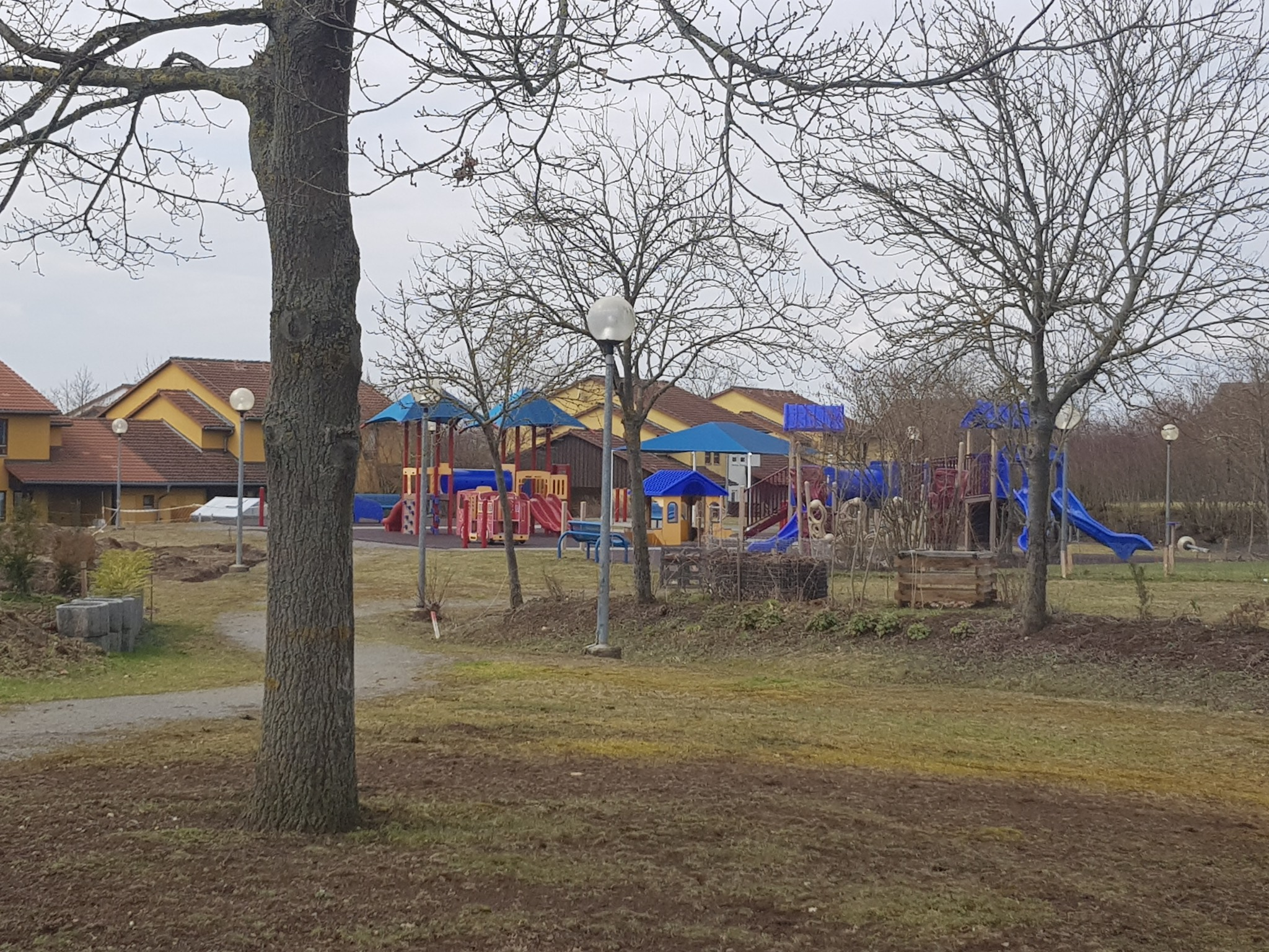 Spielplatz in Yorktown Village. Foto: Dirk Flieger