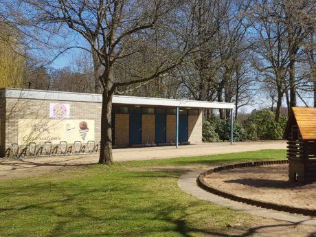Das Café Keks in den Wehranlagen. Foto: Dirk Flieger