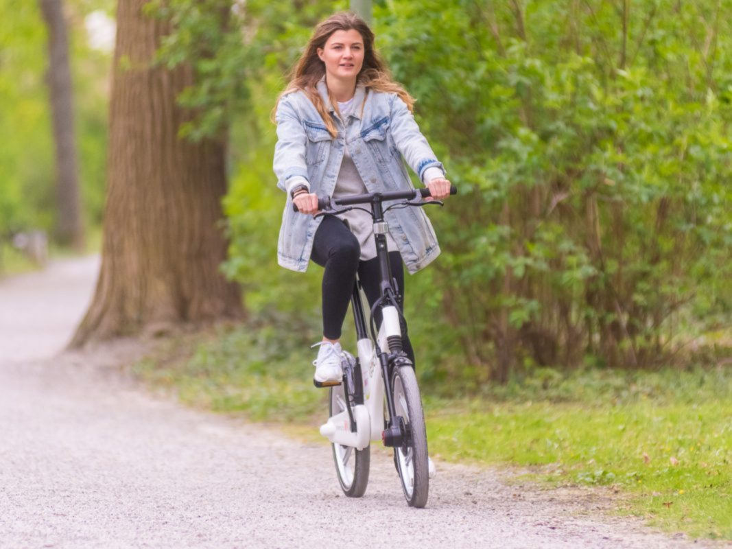 Mit dem Bike unterwegs. Foto: Pascal Höfig