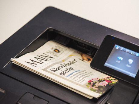 ePaper-Printer. Symbolfoto: Pascal Höfig