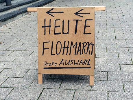 Flohmarkt. Foto: Pascal Höfig