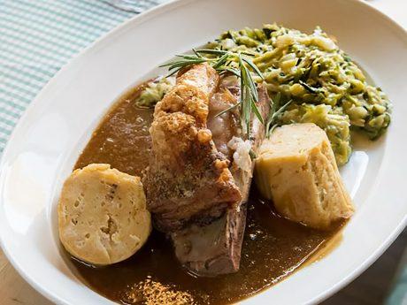 Leckeres fränkisches Essen. Foto: Pascal Höfig
