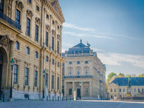 Die Residenz in Würzburg. Foto: Pascal Höfig