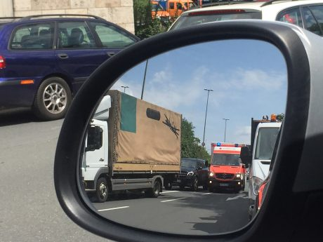 Ein Rettungswagen im Einsatz. Foto: Pascal Höfig