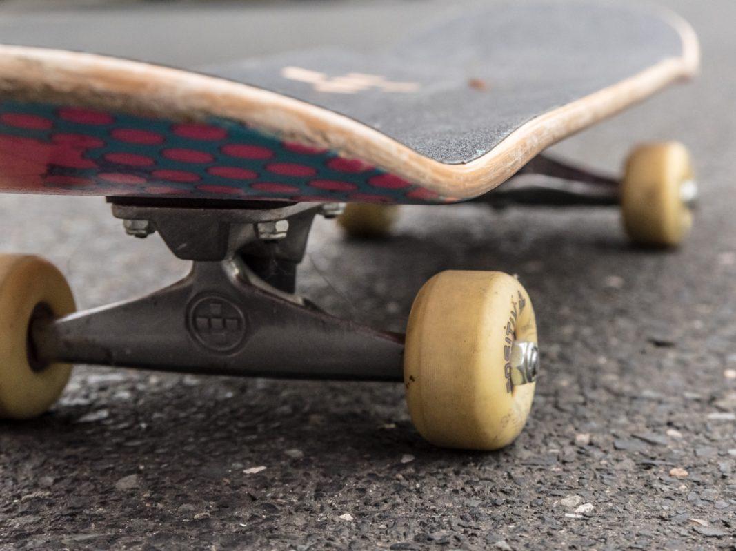 Symbolbild Skateboard. Foto: Pascal Höfig