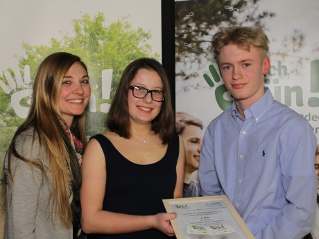 Schüler der Wilhelm-Sattler-Realschule gewinnen Umwelt-Preis! Foto: Harald Preger/Wilhelm-Sattler-Realschule
