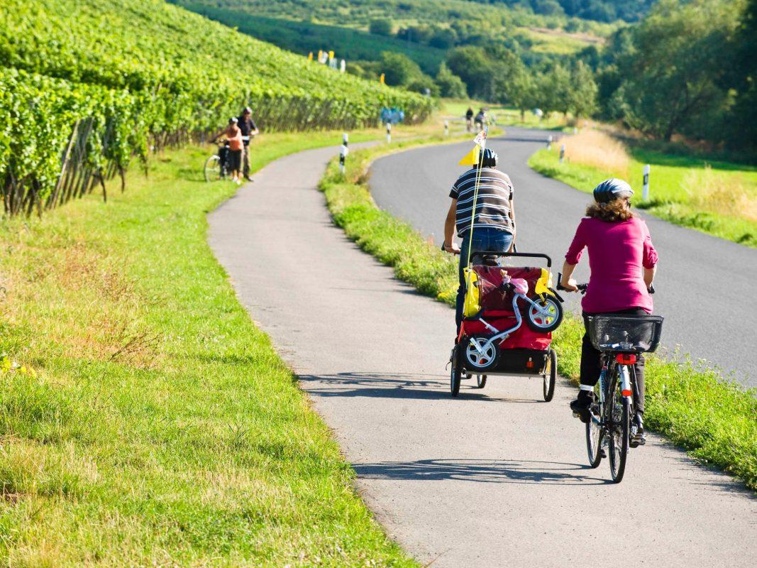 Autofreier Sonntag im Schweinfurter Land. Foto: Bettina Beuerlein/Tourist-Information Schweinfurt 360°
