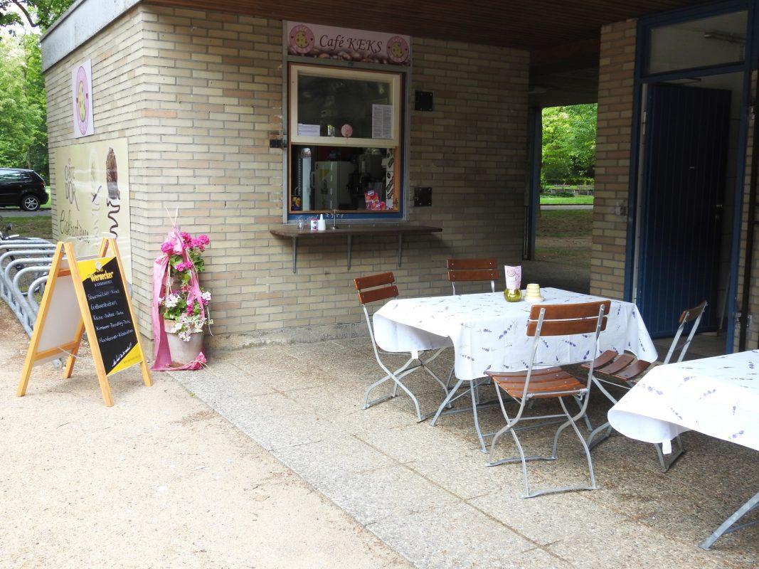 Das Café Keks hat wieder geöffnet. Foto: Dirk Flieger