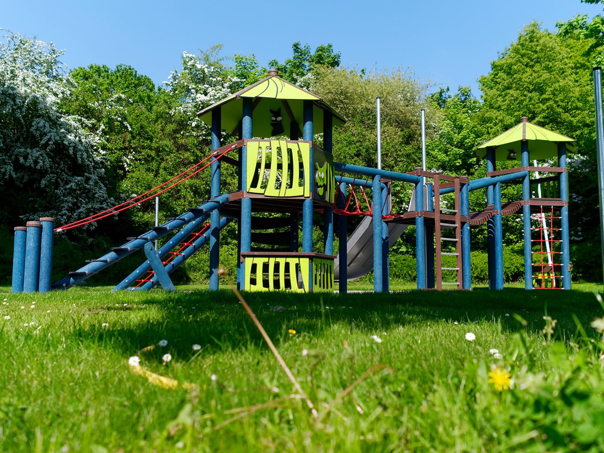 Kinderspielplatz im SILVANA. Foto: Stadtwerke Schweinfurt