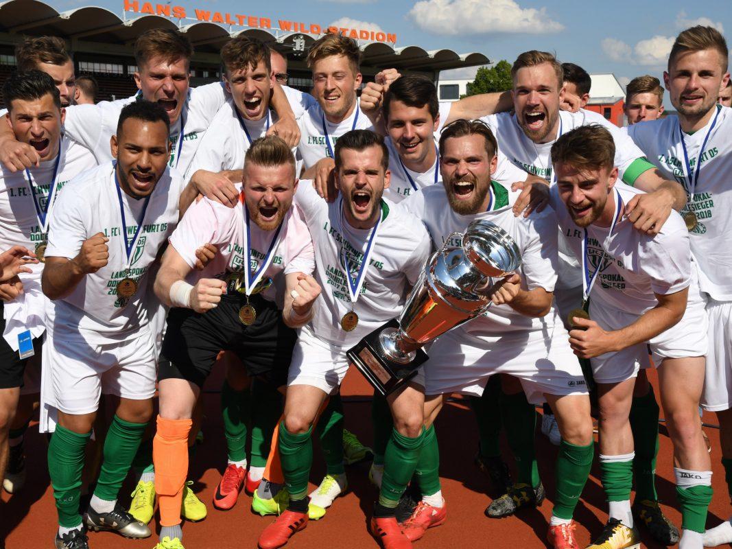 Die Schnüdel holten sich den Toto-Pokal Sieg 2018! Foto: Bayerischer Fußball–Verband e.V.