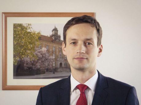 Landrat des Landkreises Schweinfurt Florian Töpper (SPD). Foto: Dominik Ziegler