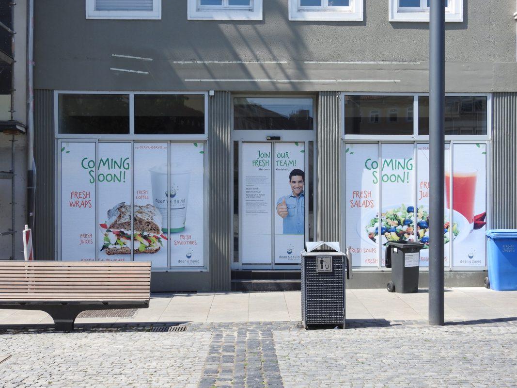 Neuer dean&david am Marktplatz. Foto: Dirk Flieger
