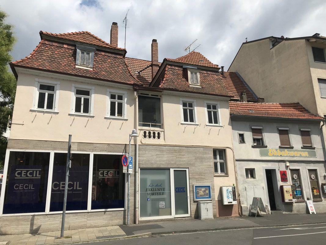 Bürgerhäuser am Georg-Wichtermann-Platz. Foto: SPD Schweinfurt