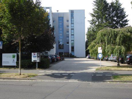 Studentenwohnheim in der Florian-Geyer-Straße. Foto: Dirk Flieger