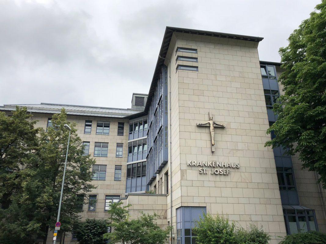 St. Josef Krankenhaus Schweinfurt. Foto: Meliz Kaya