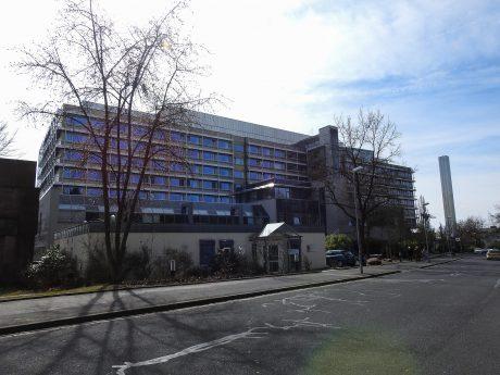 Das Leopoldina-Krankenhaus in Schweinfurt. Foto: Dirk Flieger