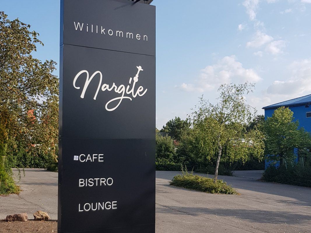 Nargile Café/Shisha Bar in der Adolf-Ley-Straße in Schweinfurt. Foto: Dirk Flieger