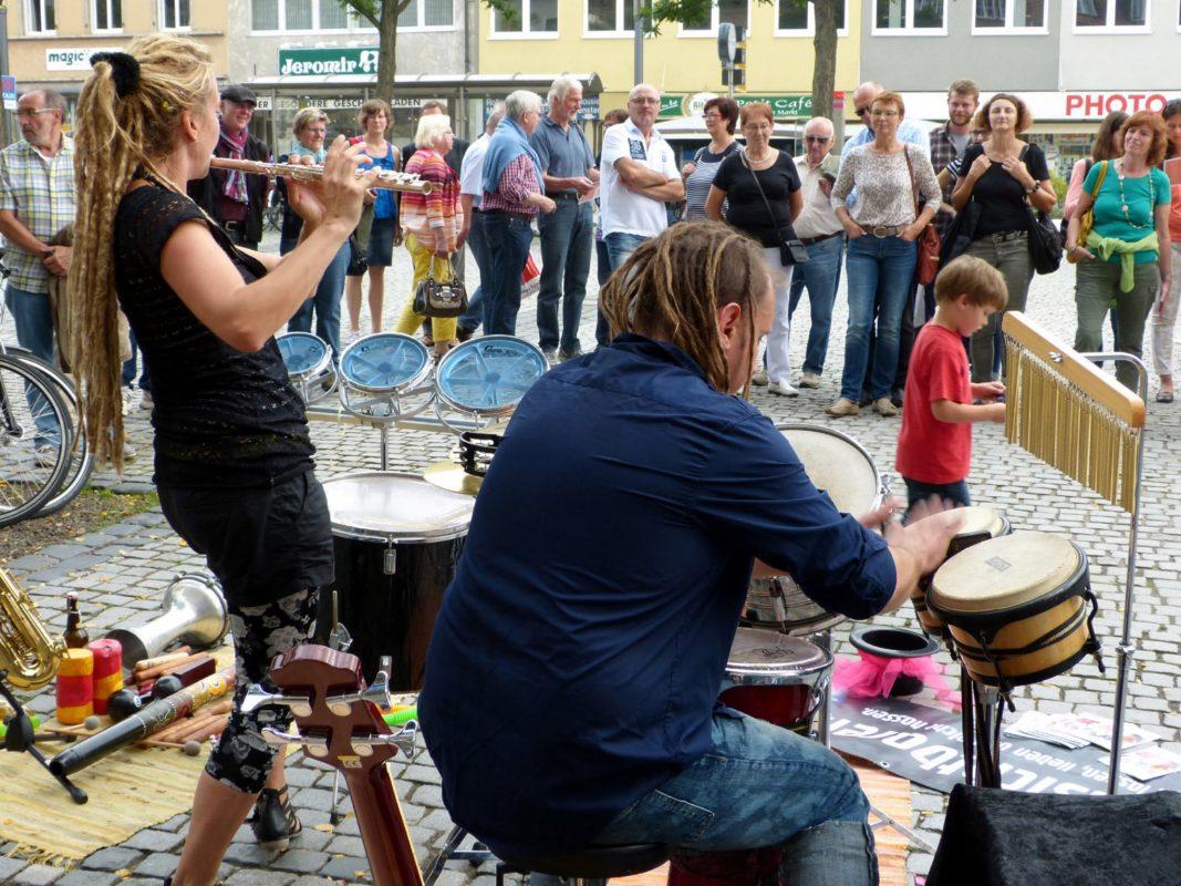 Das Straßenmusikfestival war schon die letzten Jahre ein voller Erfolg. Foto: KulturPackt Schweinfurt e.V.