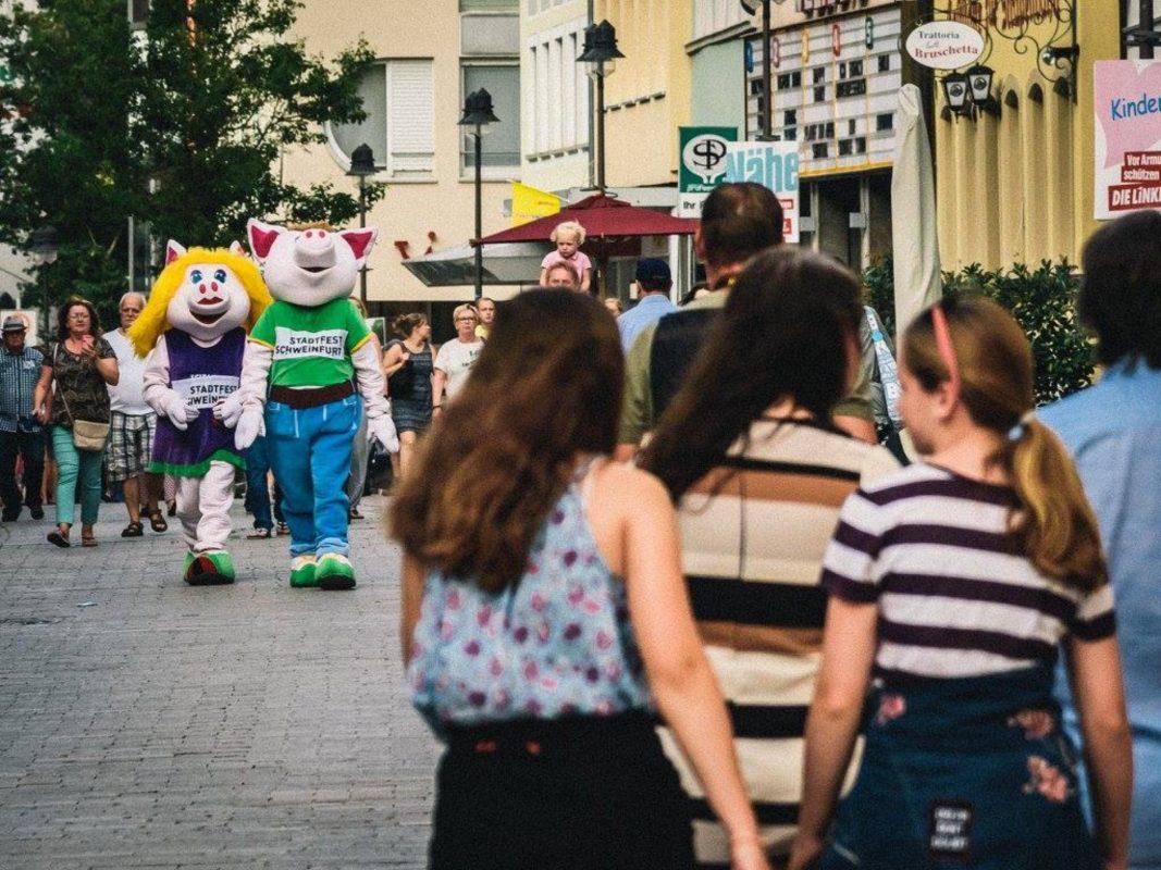 Besuchermagnet Stadtfest. Foto: Pascal Höfig