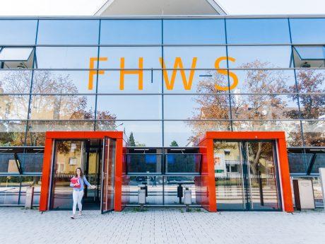 Die FHWS in Schweinfurt.