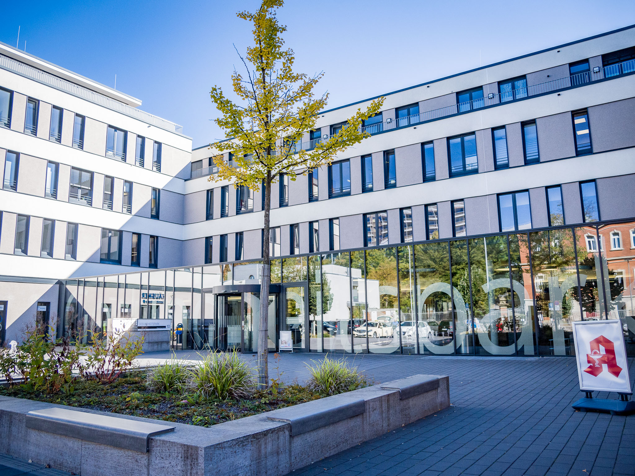 Modernes Krankenhaus mit Tradition. Foto: Pascal Höfig