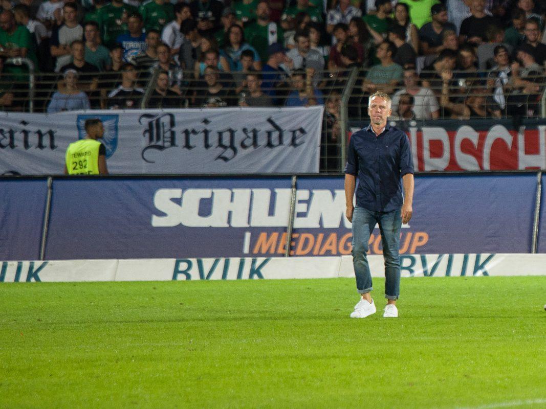 Sportlicher Leiter des 1. FC Schweinfurt 05. Foto: Pascal Hoefig.