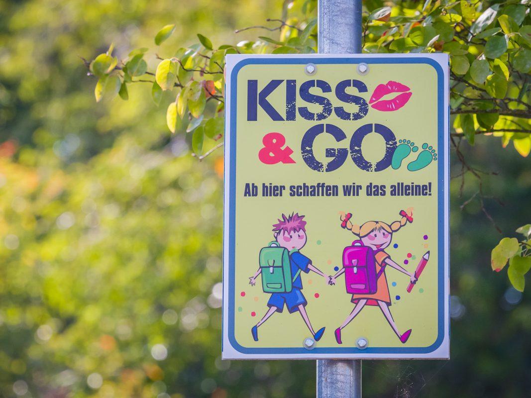 """""""Elterntaxi kann zur Gefahr werden"""". Kiss & Go soll helfen. Foto: Pascal Höfig"""