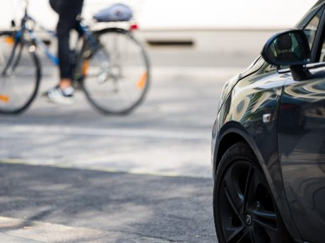 Auto & Fahrrad. Foto: Pascal Höfig