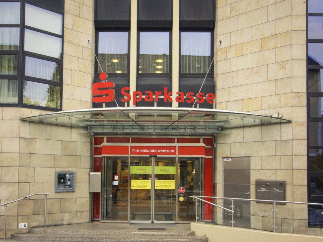 Sparkasse Schweinfurt-Haßberge. Foto: Dominik Ziegler.