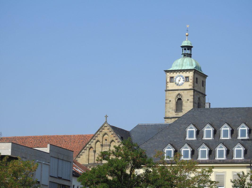 Die evangelische St. Johannis-Kirche. Foto: Dirk Flieger