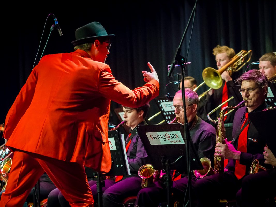 Big Band swing@sax gibt Jubiläumskonzert. Foto: ZF Friedrichshafen AG