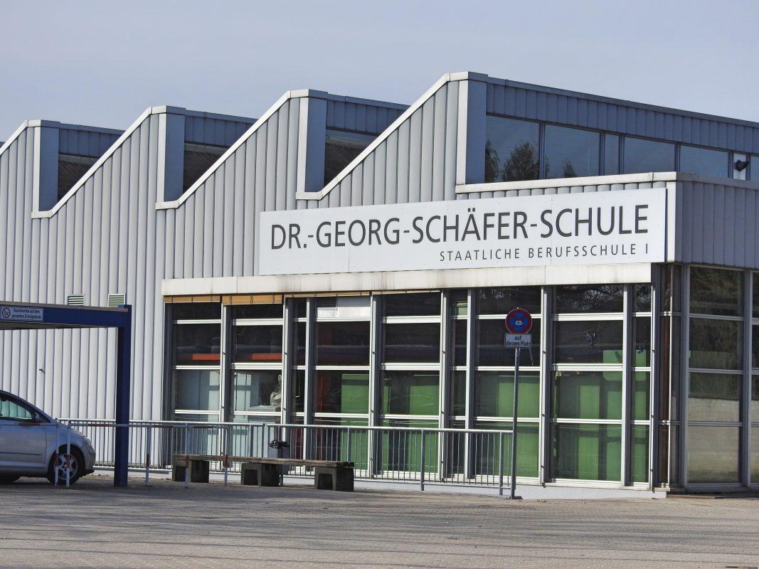 Die Berufsschule in Schweinfurt. Foto: Dirk Flieger