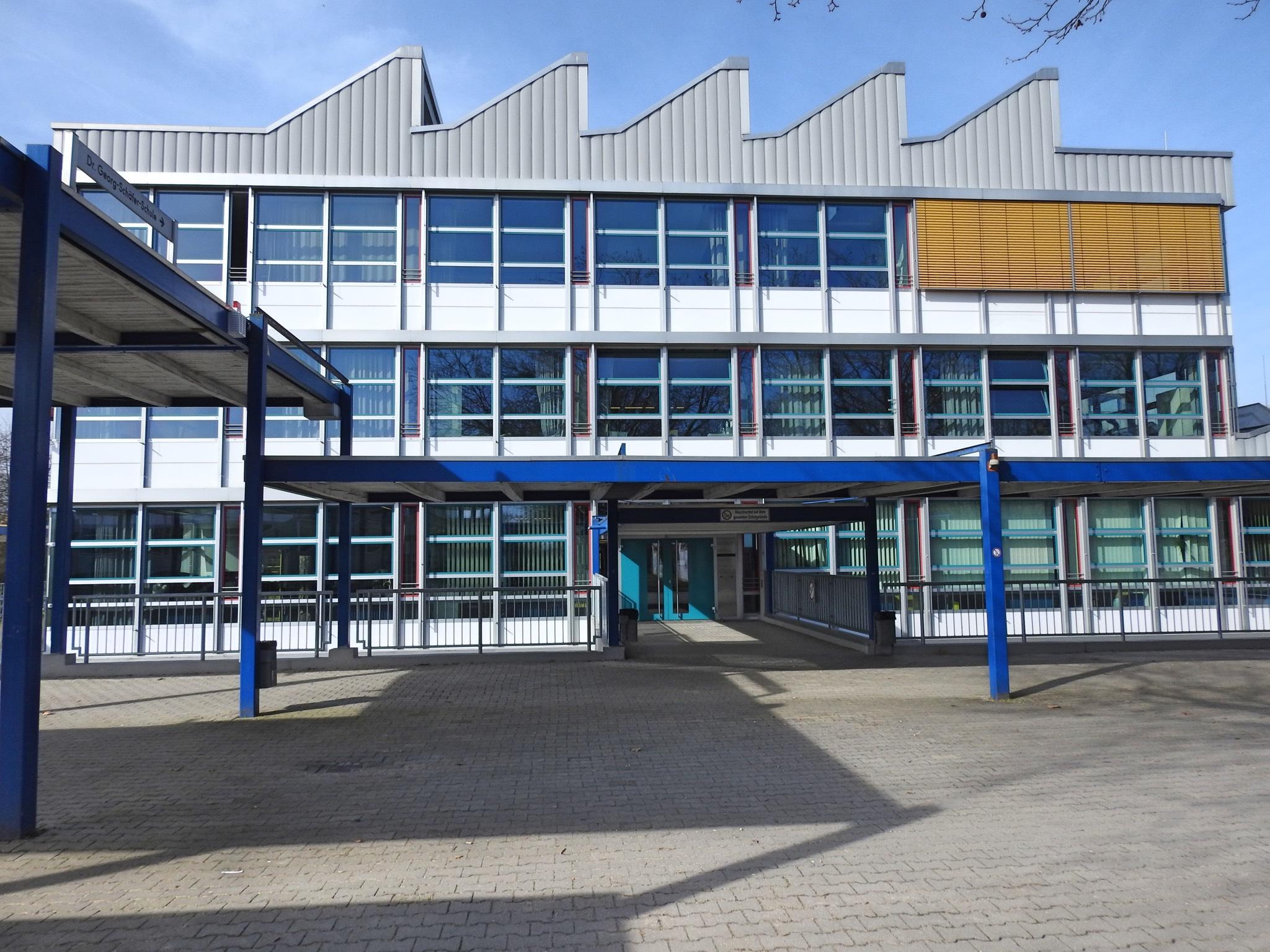 Die Dr. Georg Schäfer Schule wird zur Exzellenzschule.Foto: Dirk Flieger