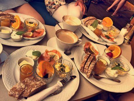 Brunchen und Frühstücken. Symbolfoto: Sarah Willer