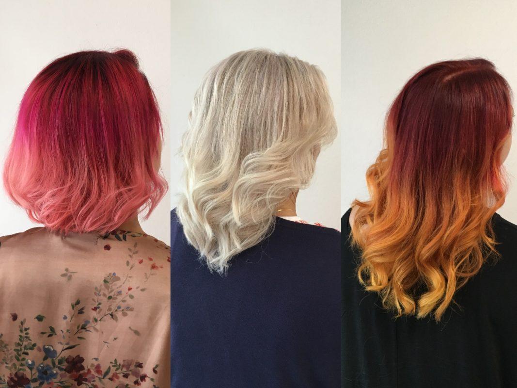 Keine Angst vor neuen Farben! Fotos: Haarmonie