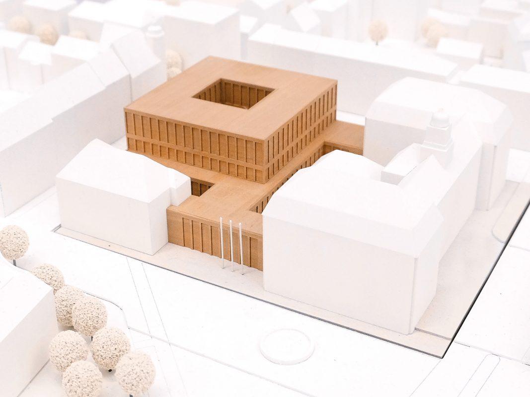 Skizze: Planungsgemeinschaft JZS/ Knoche Architekten BDA/ ZILA Freie Architekten