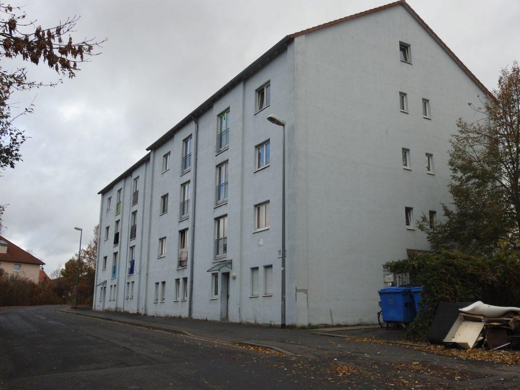 Obdachlosenunterkunft der Stadt Schweinfurt. Foto: Dirk Flieger